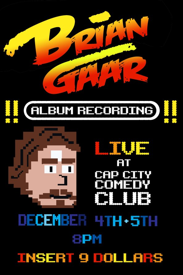Come to my album recording Dec. 4-5 at Cap City
